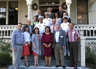 The above photo shows Consul General De La Vega with members of the Camarillo Chamber of  Commerce, Camarillo City Council Member Bill Little, Philippine Cultural Center of Ventura County officers  and officials from the Naval Base at Port Hueneme.