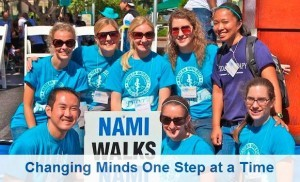 Every journey begins with that first step! As NAMIWalks celebrates our 11th Anniversary in 2013, we are proud to be the largest and most successful mental health awareness and fundraising event in America! Through NAMIWalks' public, active display of support for people affected by mental illness, we are changing how Americans view persons with a mental illness. This is leading to ensuring that help and hope are available for those in need. Please join us as we improve lives and our communities one step at a time. (screenshot photo courtesy of www.namiwalks.org)