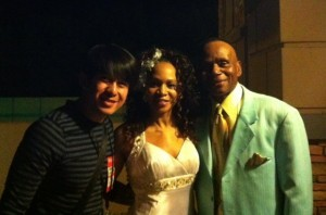 Marlou Colina with Peaches and Herb