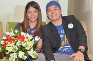 Melai Cantiveros and Jason Francisco (MNS Photo)