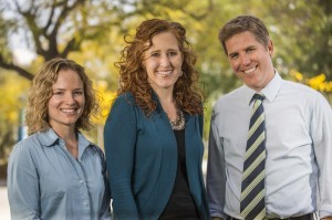 Co-Directors Dr. Rachel Fenning, Dr. Erica Howell, and Dr. Jason Baker