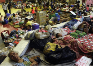 Relief efforts are in high gear in the aftermath of Super Typhoon Haiyan/Yolanda. (photo courtesy of www.usphilippinessociety.org)