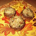 Meat-Free Favorites : Stuffed Mushroom Caps