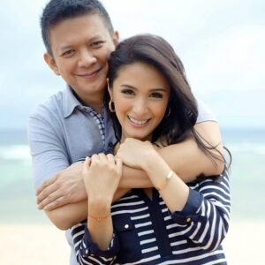 "Senator Francis ""Chiz"" Escudero and Heart Evangelista (MNS photo)"