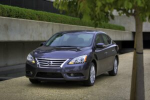 The 2014 Nissan Sentra's performance enhancements include a reduction of engine noise, more responsive steering feel, reduced body roll, increased ride comfort, and enhanced acceleration feel through retuning of the Xtronic CVT®, including the addition of a D-Mode step shift program.