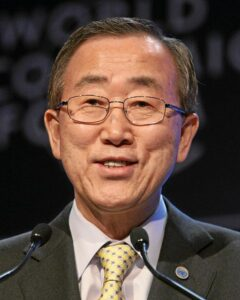 Ban Ki-moon - World Economic Forum Annual Meeting Davos 2008 (photo courtesy of http://en.wikipedia.org/wiki/Ban_Ki-moon)