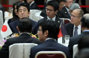 TOKYO, Japan – President Benigno S. Aquino III along with fellow regional leaders attends the luncheon meeting hosted by Keidanren and the Japan Chamber of Commerce and Industry at the Golden Room of the Keidanren Kaikan on Saturday (December) at the sidelines of the ASEAN – Japan Commemorative Summit, the culminating event to a full year of activities commemorating 40 years of ASEAN-Japan relations. (MNS photo)