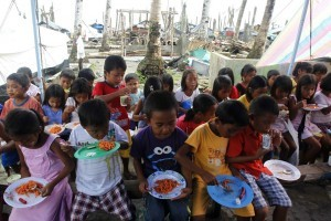 Children in Leyte (MNS photo)