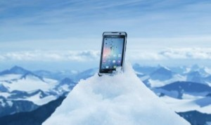 The NAUTIZ X1 Ultra-Rugged Smartphone The phone meets stringent MIL-STD-810G military standards for withstanding humidity, vibration, drops and extreme temperatures. ©Handheld