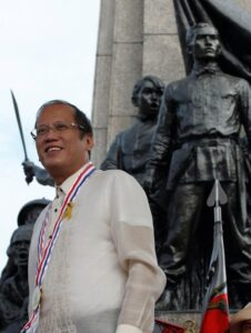 "President Benigno S. Aquino III leads the nation in commemorating the 150th Birth Anniversary of Gat Andres Bonifacio at the Bonifacio National Monument in Caloocan City on Saturday (November 30, 2013) with the theme: ""Bonifacio: Dangal at Kabayanihan."" Also in photo is National Historical Commission of the Philippines chairperson Dr. Maria Serena Diokno. (MNS photo)"