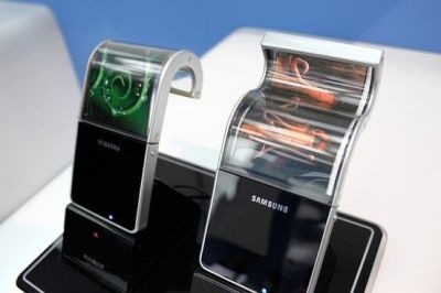 Samsung, whose Youm project is pictured here, and LG are global leaders in curved and flexible screen technology. ©Samsung Display