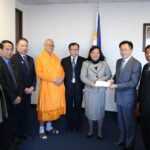 Wat Thai Los Angeles donates to Typhoon Yoland/Haiyan Relief