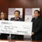 BBCN, leading Korean-American Bank presents check for Typhoon Haiyan/Yolanda relief efforts