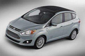 The Ford C-MAX Solar Energi Concept Car. ©Ford