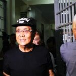 Newly-freed Leviste shows up at DOJ drug cartel probe