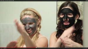"Screenshot: ""Girls Night In - Black Detox Facial (How To)"" © 2014 YouTube, LLC"