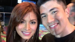 Luiz Manzano and Angel Locsin (MNS Photo)