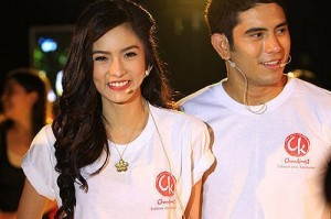 Kim Chiu and Gerald Anderson (MNS photo)