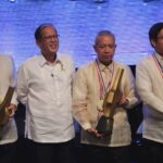 President Aquino cites 3 gov't officials in the 2014 TOFIL Awards