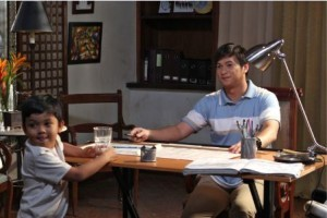"Taping for ""Juice"" (photo clips courtesy of www.gmanetwork.com)"