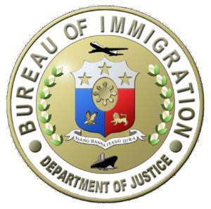 (Bureau of Immigration logo)