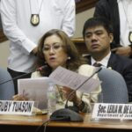 Lawyers shout it out during Ruby Tuason testimony