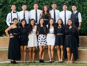 Club Kaibigan, a prominent Filipino Student  organization based at Whitney High School in Cerritos, California is pictured with its  officers for 2013-2014. First row from left: Ernest Olivar, Mark Ruiz, Johnny Lloyd, Ann Munoz (president), Carlo Salonga, Cyrus Salvani and  John Gaintano. Second row from left: Bianca Balquin, Czarina Linao, Chloe Olvera, Alexis Bilas-Imperial, Juliene Porciuncula, Jenna Llamas and Klyne Magdayag.