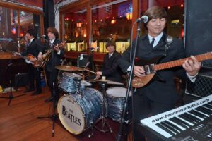 """The Beatles"" live at the Britannia British Pub in Santa Monica."