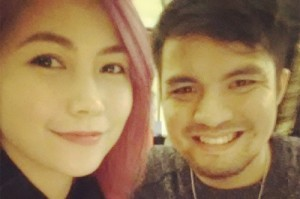 Yeng Constantino and Victor Asuncion (MNS Photo)