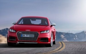 The all-new Audi TT and 310PS TTS Coupé The new car gets a new, more masculine grille. ©Audi