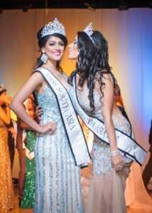 Reena Rai Miss South Asia 2014 with past winner Husna Momand (Photo by Teofie S. Decierdo at VTM Photography)