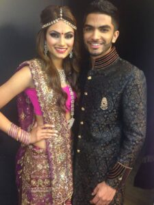 Seepaj Dhaliwal and Rajan Sra Mr & Miss India North America 2014 (Photo by Teofie S. Decierdo at VTM Photography)