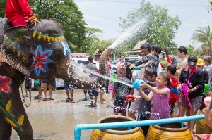 Thai New Year Songkran Festival (photo courtesy of http://songkran2014.com/)