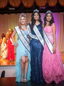 Yasma Bahar ,Mrs South Asia 2014 Aparajita Pande ,Mrs India North America Mili Shah ,Mrs India California 2014 (Photo by Teofie S. Decierdo at VTM Photography)