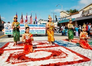 Cambodian New Year Parade (photo courtesy of www.cam-cc.org)