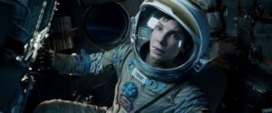 "Still of 'Gravity' starring Sandra Bullock ""Gravity"" picked up 7 Oscars. ©2013 Warner Bros. Entertainment Inc. All Rights Reserved."