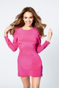 Jessica Alba signs as the new face of Braun. ©BusinessWire