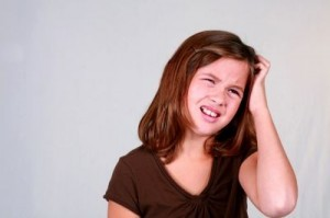 Been there? When lice strike, ordinary conditioner may be your best ally. ©Tracy Whiteside/shutterstock.com