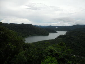 View of Angat Dam from San Lorenzo (Hilltop), Norzagaray, Bulacan. http://en.wikipedia.org/