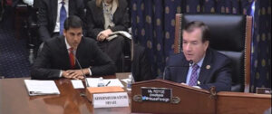 Chairman Ed Royce (R-CA) (right) asks USAID Administrator Rajiv Shah why land grabbing is happening to the Philippines, which receives a lot of funding for livelihood projects and other economic opportunities from the US. (MNS photo)