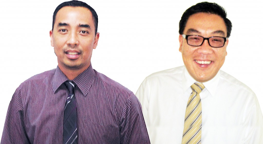 Hanzel Fraguere and Ferry Maringka Gozon, Filipino sales of Hyundai Puente Hills.