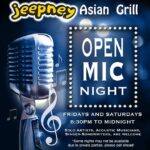 Jeepney Asian Grill hosts Friday Open Mic Nights