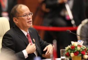 "NAY PYI TAW, Myanmar – President Benigno S. Aquino III participates in the exchanges during the 24th ASEAN Summit Plenary at the Ruby Hall of the Myanmar International Convention Center-1 (MICC-1) on Sunday (May 11, 2014). ""Moving Forward in Unity to a Peaceful and Prosperous Community"" is the theme for this year's ASEAN, highlighting the importance of a united ASEAN. (PLDT powered by SMART) (MNS photo)"