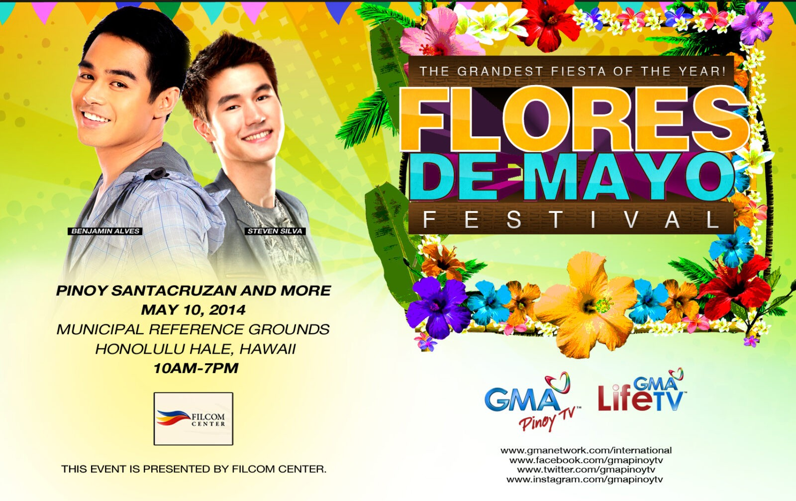 GMA International To Join Flores De Mayo Festival In