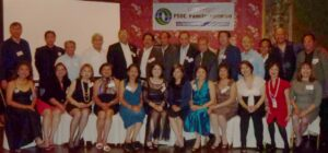 FSDC REUNION: Former employees of the Farm Systems Development Corp. take a brief time out from the proceedings at a recent reunion in Fullerton for this photo decades after the organization ceased operation in the Philippines because of political changes.