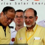 Aquino turns on first large-scale Bronzeoak solar power plant