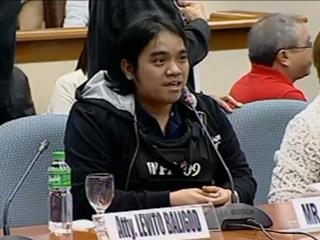 pork barrel scam of Janet Lim Napoles. He said he made separate lists