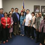 LA Fil-Ams welcome new ConGen Lim/Papal Saints