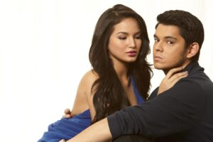 Richard Gutierrez and Sarah Lahbati (MNS Photo)