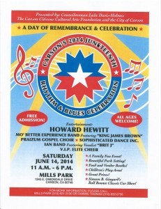 2014 Juneteenth flyer